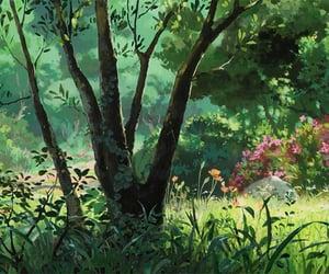 anime, nature, and studio image
