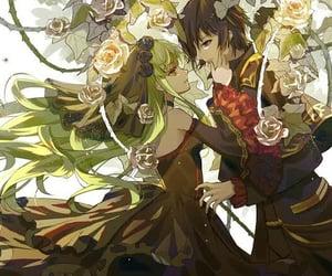 anime, code geass, and anime couple image