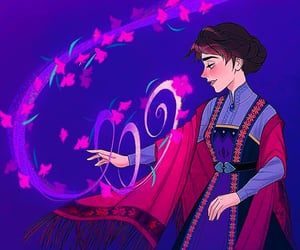 anna, disney, and magic image