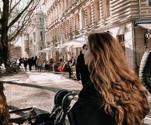 berlin, city, and hair image
