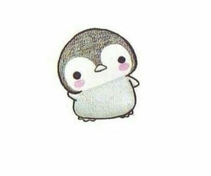 penguin, cute, and drawing image
