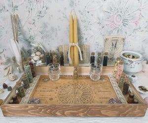 aesthetic, altar, and candles image