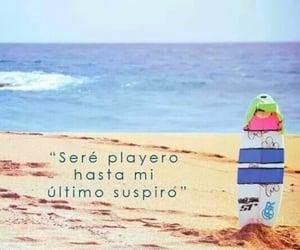 beach, sea, and spanish image