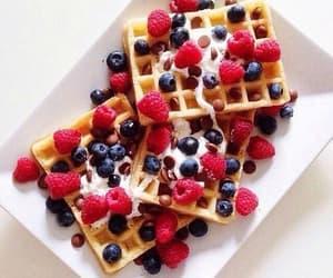 berries, cake, delicious