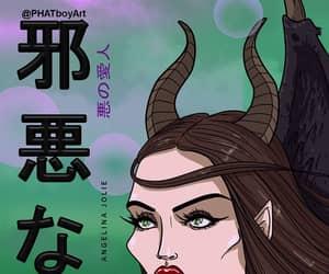 Angelina Jolie, maleficent, and disney image