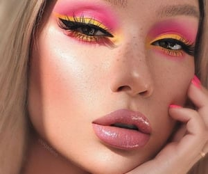beauty, colors, and makeup image