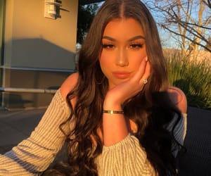 beautiful, wavy hair, and brows image