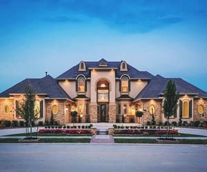 dream house, family, and huge image