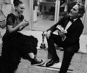joaquin phoenix, rooney mara, and oscar image