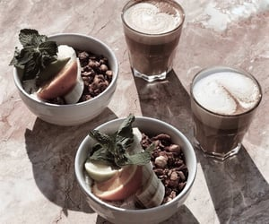 coffee, drinks, and food image