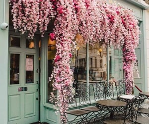 aesthetic, london, and pink image