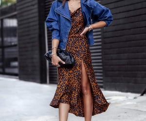 blogger, bottega veneta, and dress image