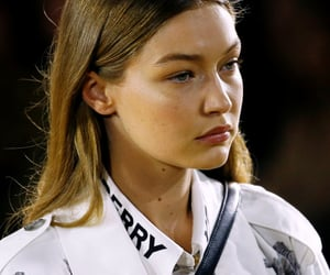 beauty, Burberry, and fashion show image