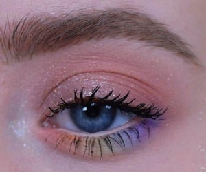 eyelashes, mascara, and makeup image