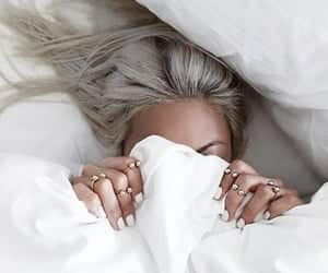 article, bed, and caffeine image