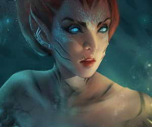 deviantart, digital art, and fantasy image