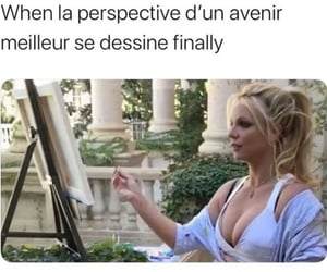 britney spears, painting, and funny image