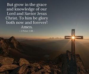 god, jesus christ, and gospel image