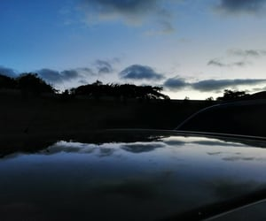 aesthetic, reflection, and sky image