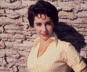 1956, liz taylor, and photograph image