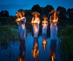 nature, witchcraft, and spells image