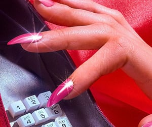 80s, manicure, and vintage image