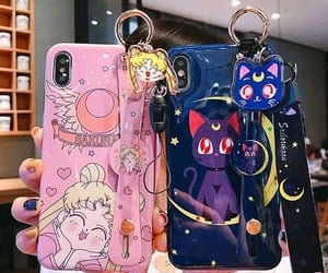 cases, sailor moon, and phone image