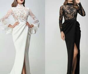 evening gown, vestido de festa, and formal dresses image