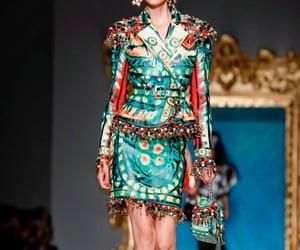 2020, fashion show, and Moschino image