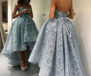 evening gown, vestido de festa, and cheap prom dress image
