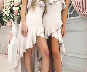 bridesmaid dresses long, wedding party dresses, and sexy bridesmaid dress image