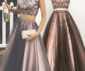 black prom dress, vestido de festa de longo, and robe de soirée image
