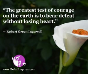 courage and be an inspirer image
