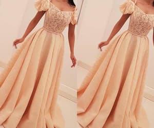 robe de soirée, lace prom dress, and cheap prom dresses image
