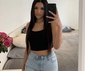 pretty girls, waist length hair, and 💖 image