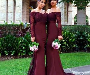 robe de soirée, vestido de festa de longo, and cheap bridesmaid dress image