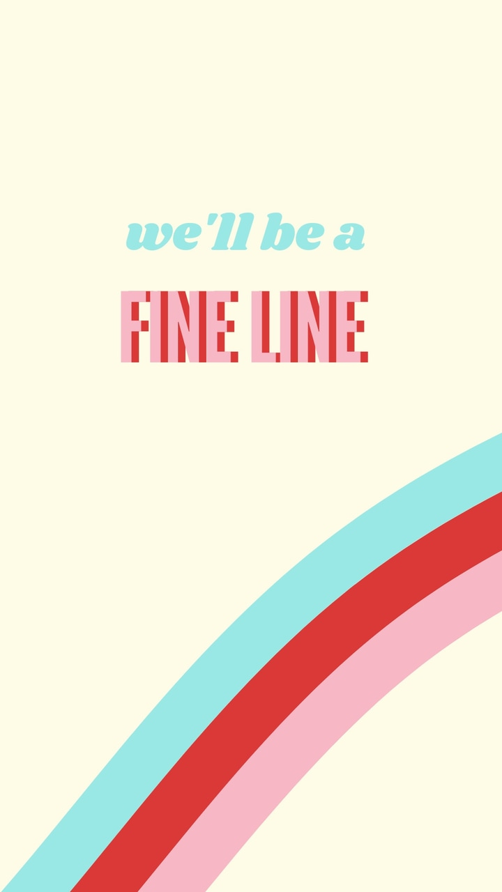 fine line and wallpaper image