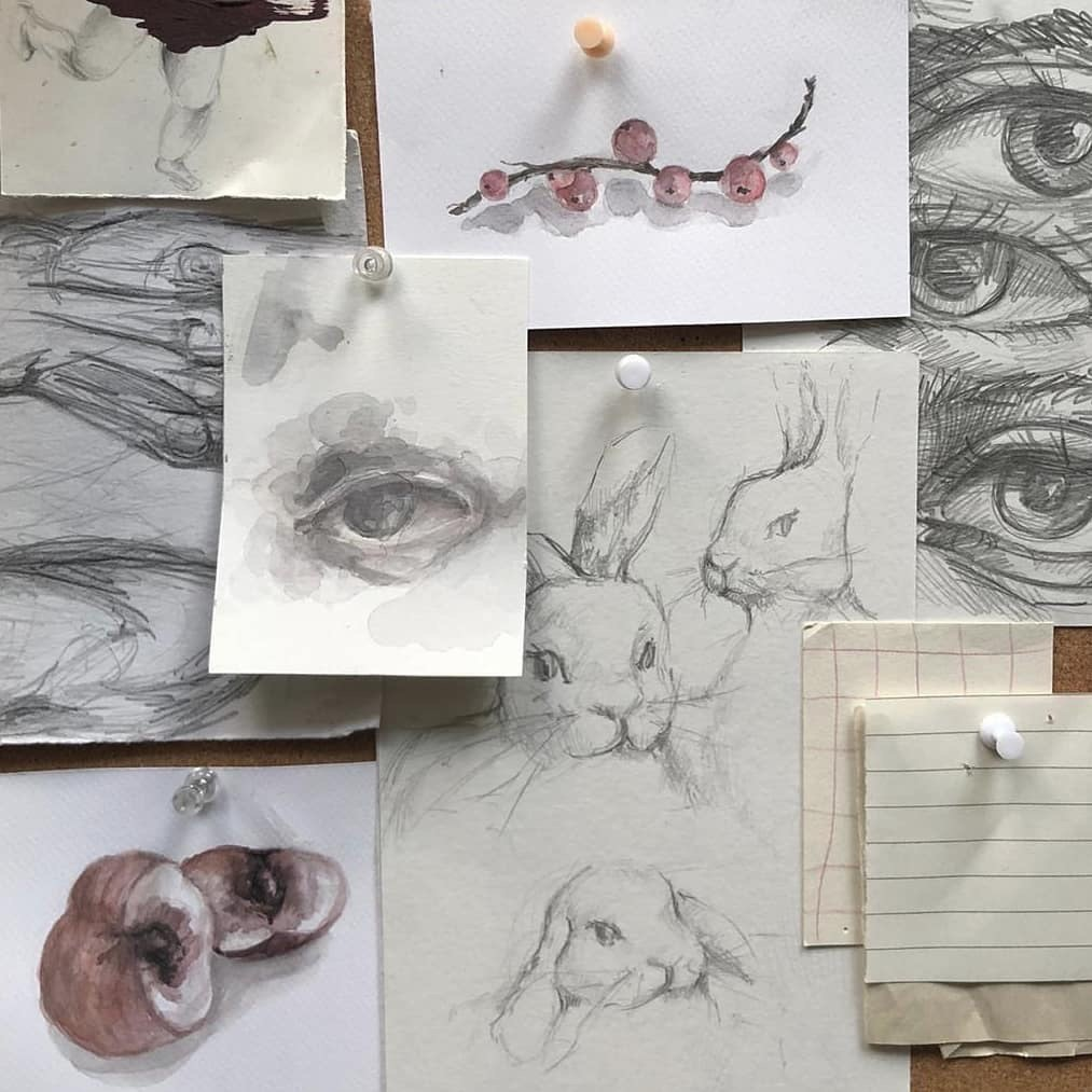 aesthetic, art, and artworks image