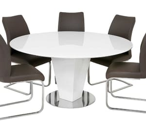 dining table, dining table set, and glass dining table image