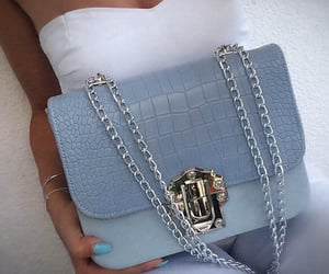 accessoires, blue, and fashion image