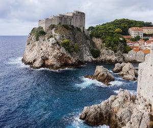 castle, Croatia, and dubrovnik image