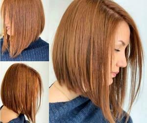 bangs, highlights, and hair cuts image