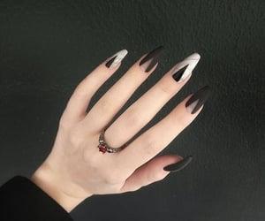 black, hand, and inspiration image