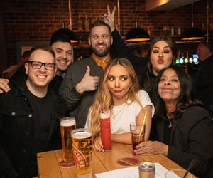 daughter, jade thirlwall, and drinks image