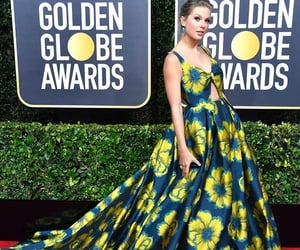 golden globes, Ts, and red carpet image