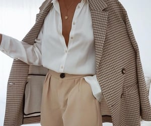 beige, chique, and blouse image