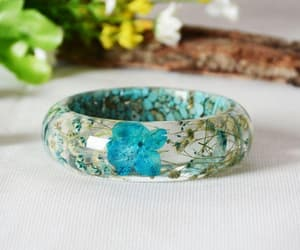 bracelet, brazilian, and flowers image