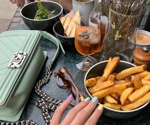 aesthetics, chanel, and food image