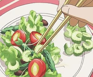 anime, foods, and food image