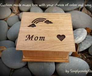 etsy, wooden music box, and woodenmusicbox image